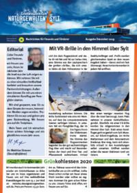 Das Foto zeigt die Titelseite der Ausgabe 9 unserer Nachrichten.
